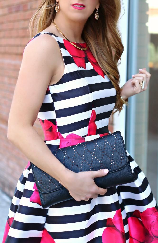 stripe floral dress 6