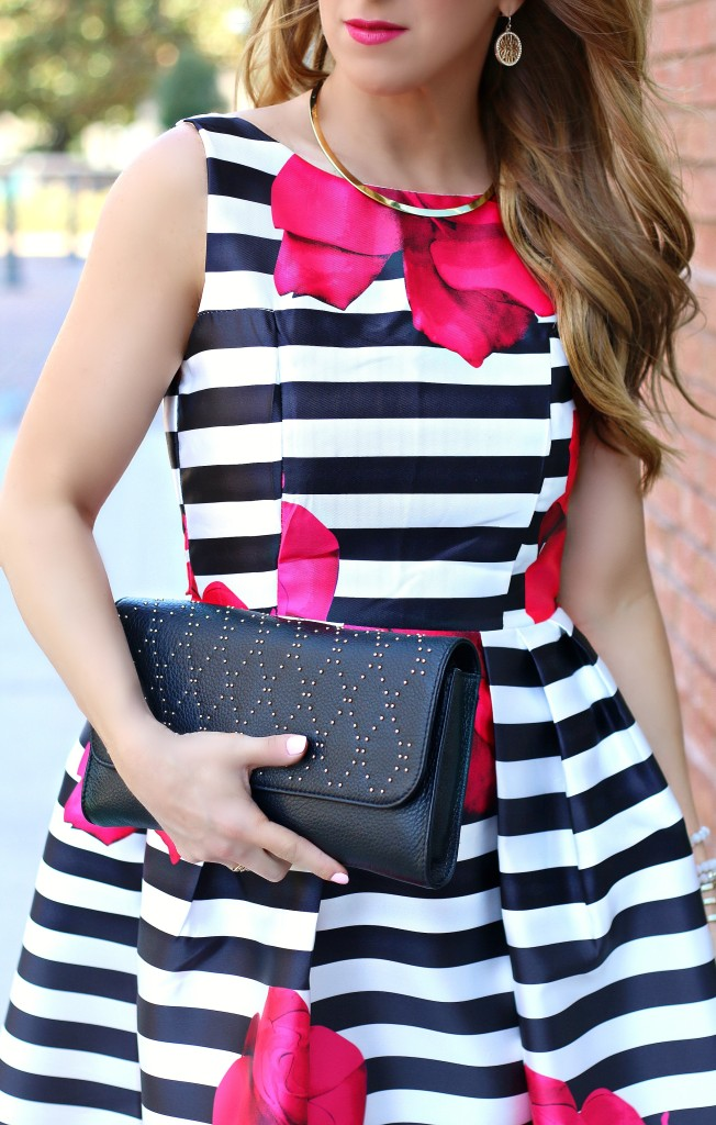 stripe floral dress 10