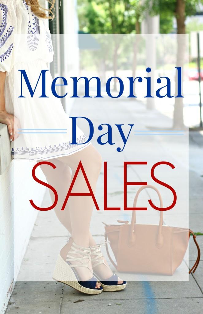 Memorial day sales 2016