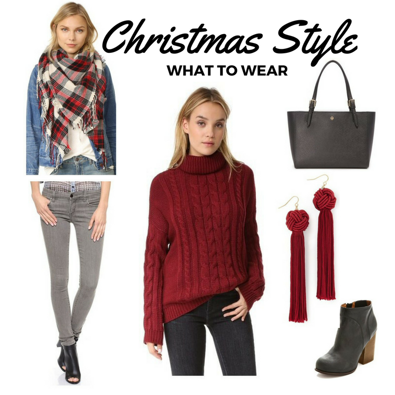 Heres A Christmas Outfit Idea Perfect For Family Gatherings