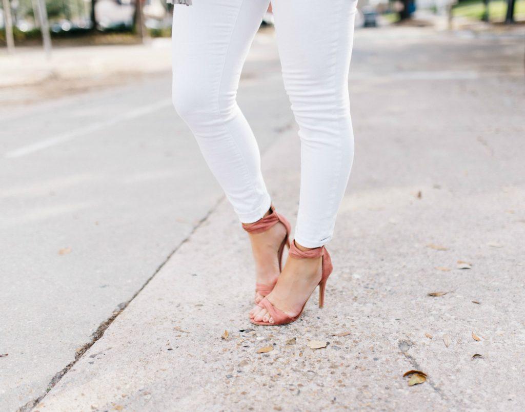 Dusty Rose Heels | January Hart Blog
