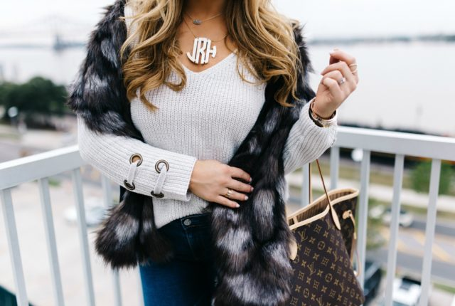 How to style a chunky sweater | January Hart Blog