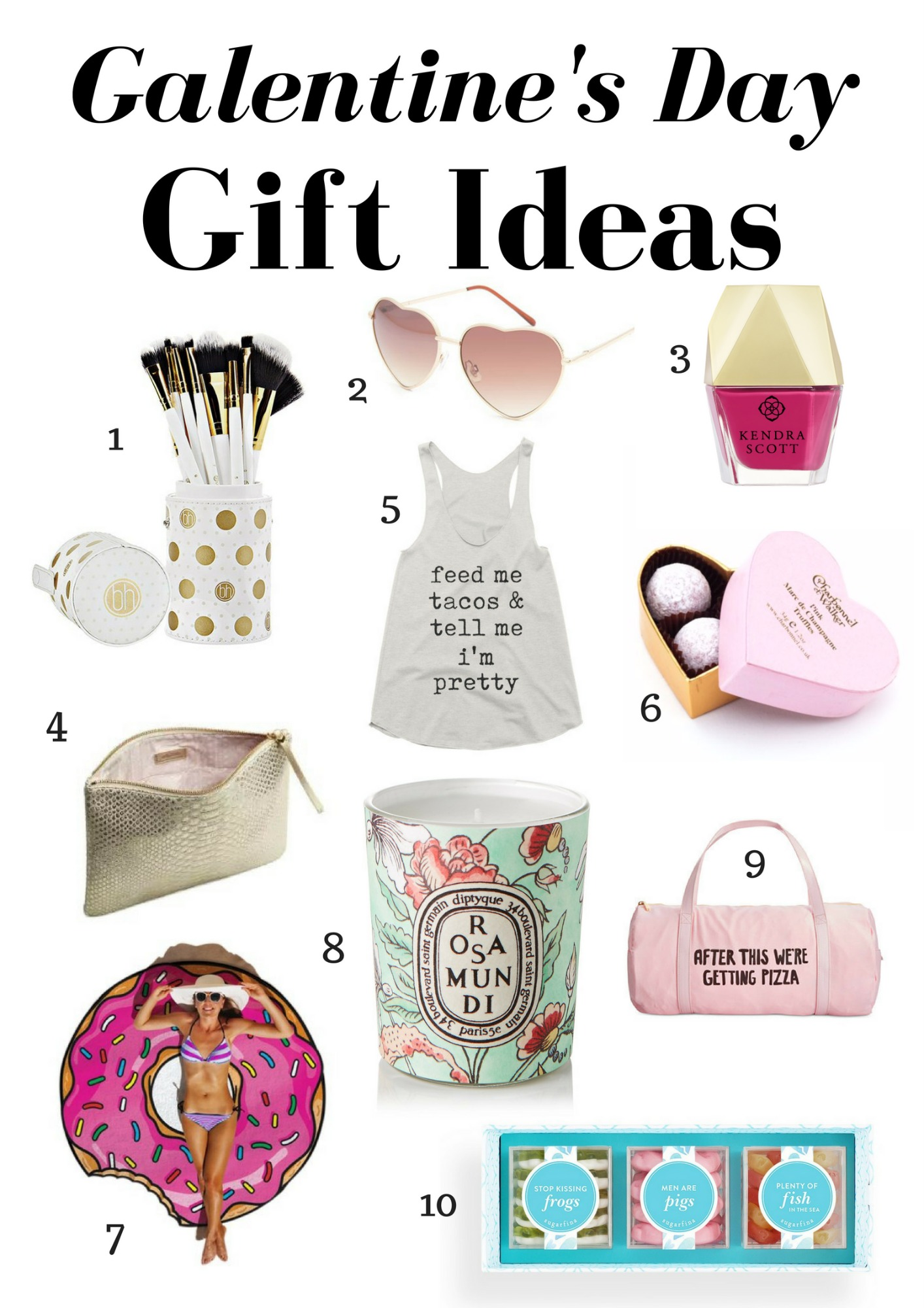Galentine's Day Gift Guide 2017 | January Hart Blog