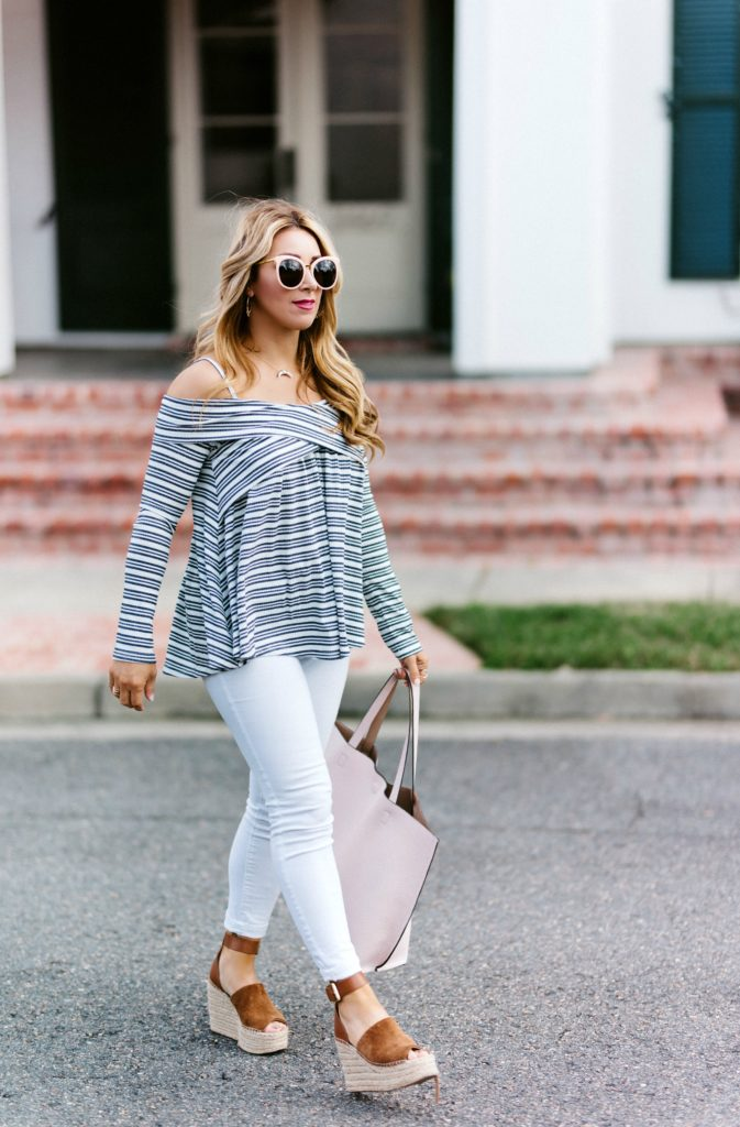 off the shoulder tops