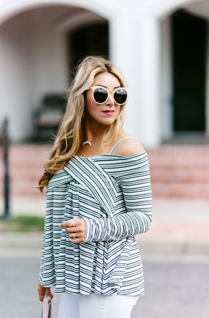 off the shoulder tops long sleeve