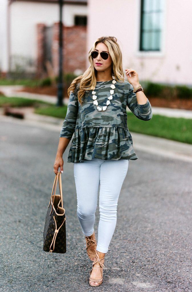 how to style the camo trend