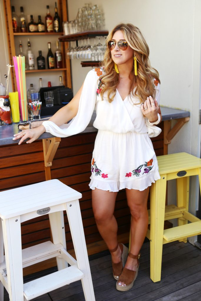 long sleeve romper ladies