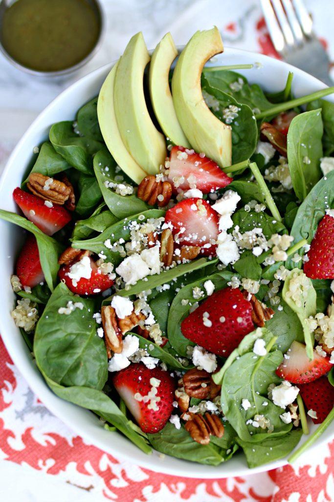 Quinoa Strawberry Salad