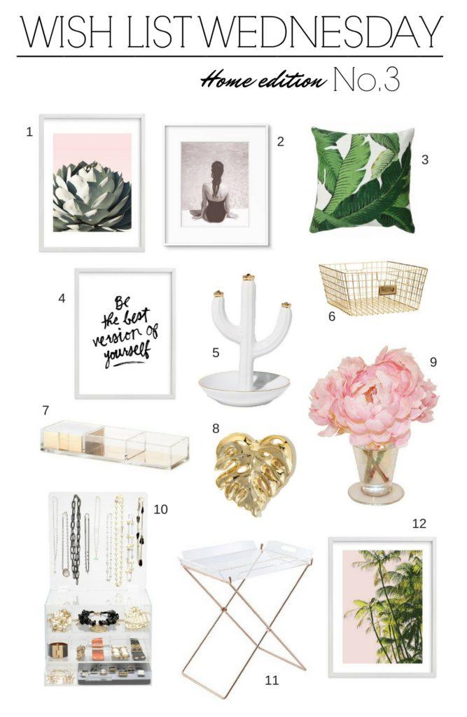 Wish list wednesday no 3 home edition january hart blog for Home wish list