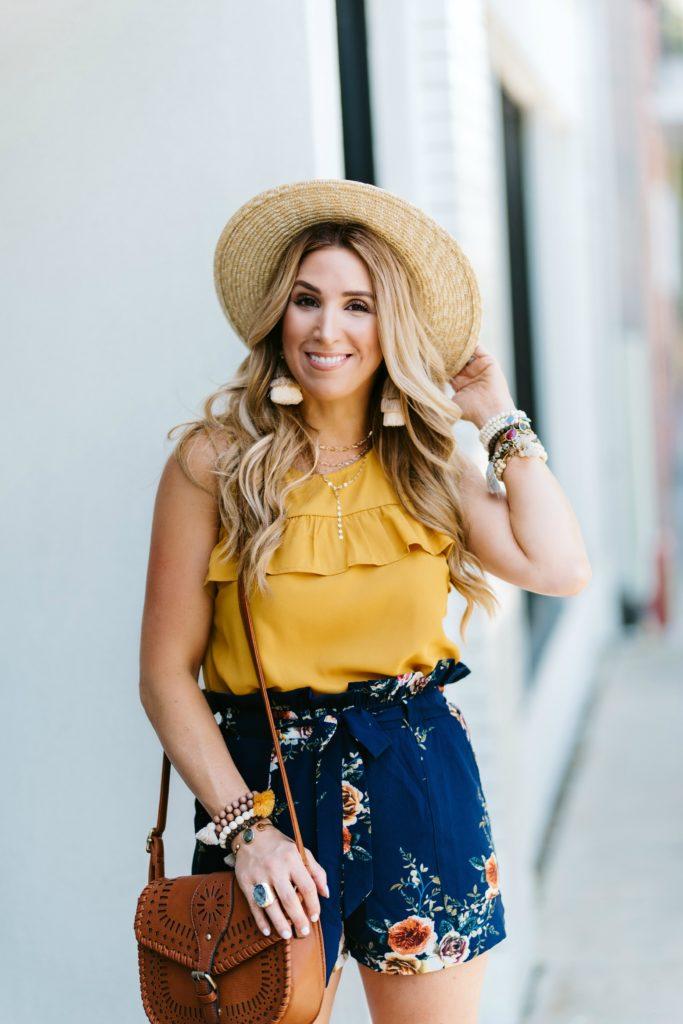 Mustard Yellow Womens Tops