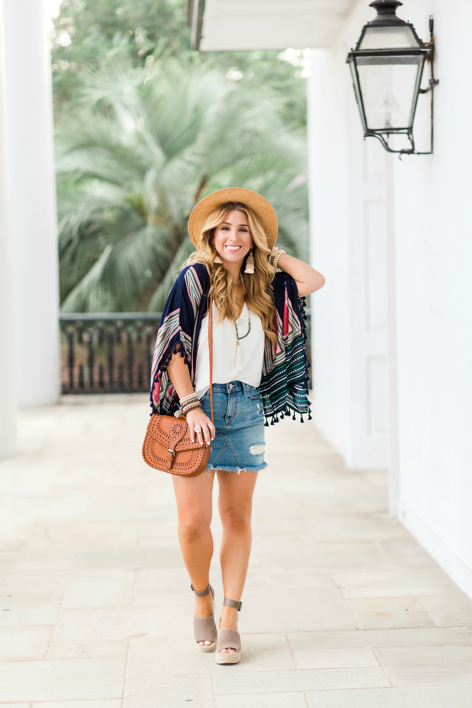 Elevating your casual style with a Kimono Cardigan || January Hart ...