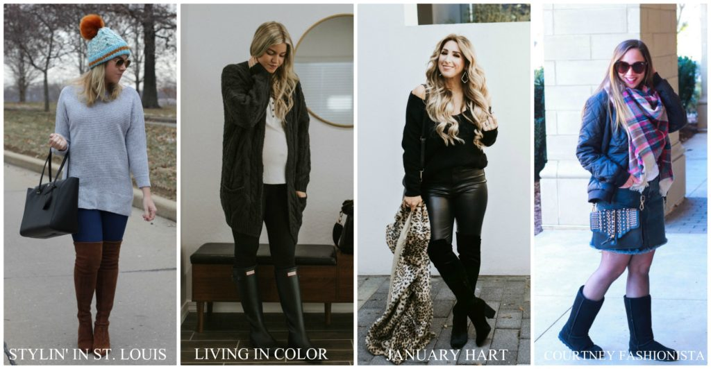 ways to style tall boots