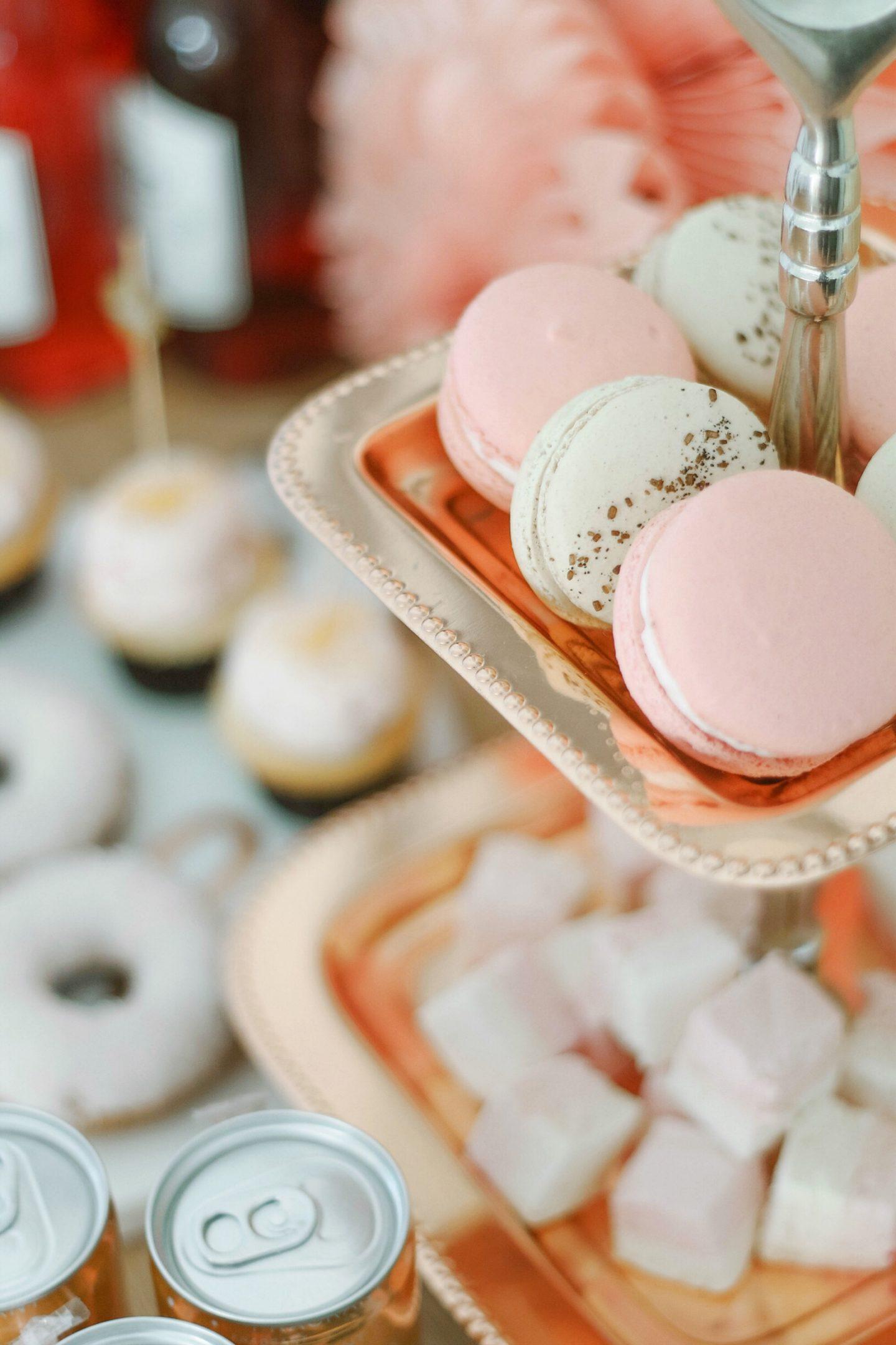 Valentines Day Dessert Cart